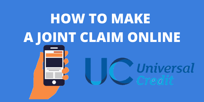 how to make a joint claim online in universal credit