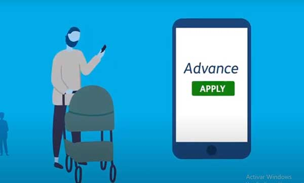 repayable advance on universal credit