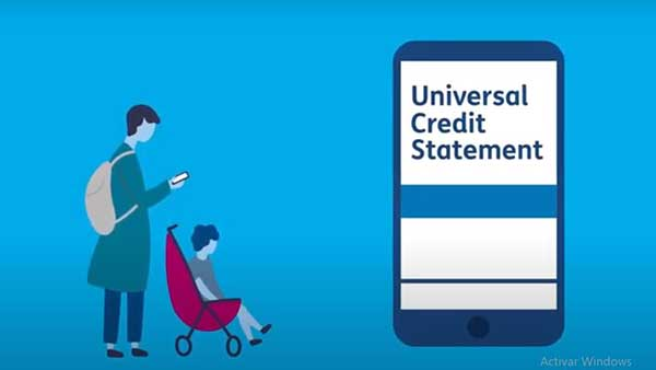universal credit on your account